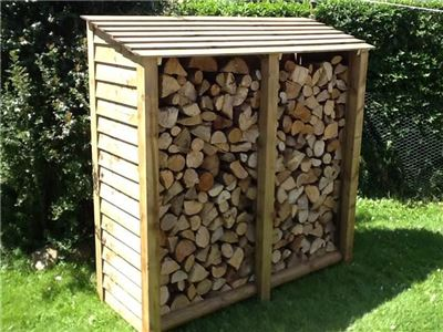 Double Tall Log Store