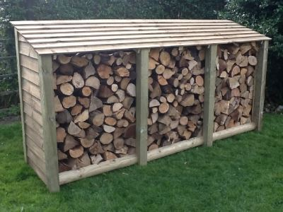 XL Heavy Duty Log Store