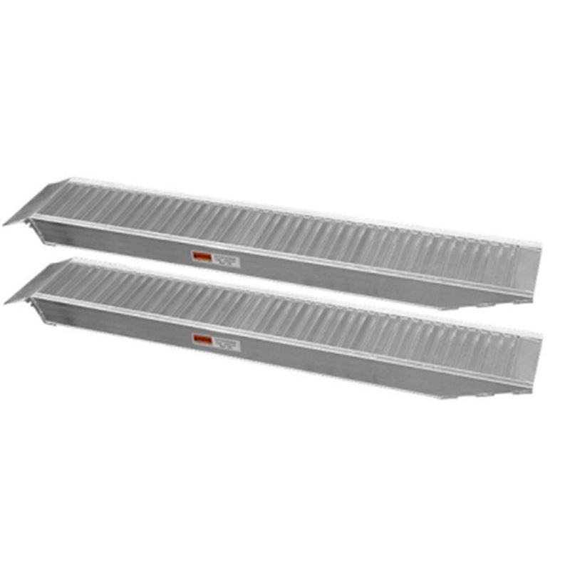 Order a Aluminium Ramp - perfect for loading your garden machinery or ATV.