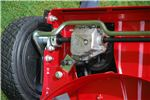 Rugged Lawnmower gearbox on Titan Pro mowers