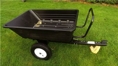 Duratex Dump Truck Trailer -  Wheelbarrow - Towable Trailer