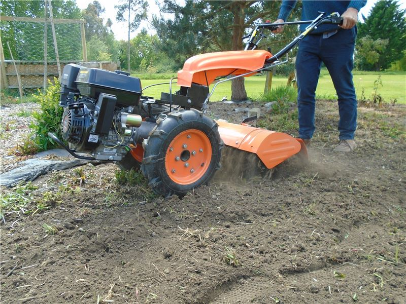 To Two Wheel Tractor Rototiller : Two wheeled tractor hp rotavator tiller sweeper