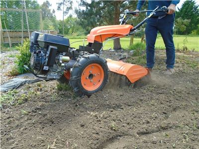 Rotavator Attachment for the Two Wheel Tractor - Titan Pro Warrior