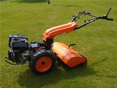 Two Wheeled Tractor - 9HP Rotavator - Tiller - Sweeper - Warrior