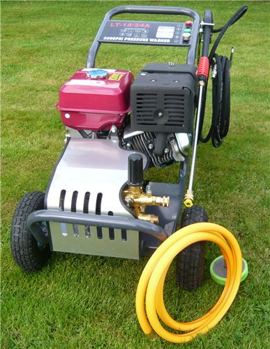 Order a The Petrol 13HP High Pressure washer, with ceramic plunger and Extra  long life pump.