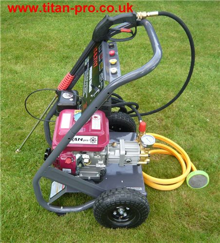 Order a Petrol 7HP High Pressure washer, with ceramic plunger  long life pump.